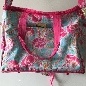 Soft sided Lilly Pulitzer cooler
